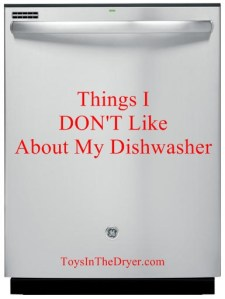 What I DON'T Like About My GE® Dishwasher #spon