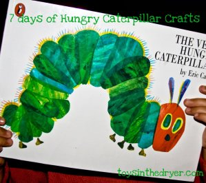 The Very Hungry Caterpillar Crafts, The Very Hungry Caterpillar
