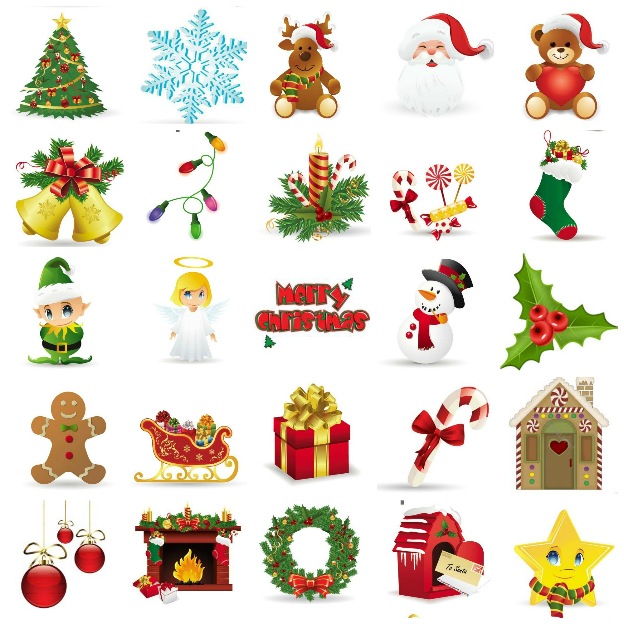It is a picture of Lucrative Free Printable Christmas Images