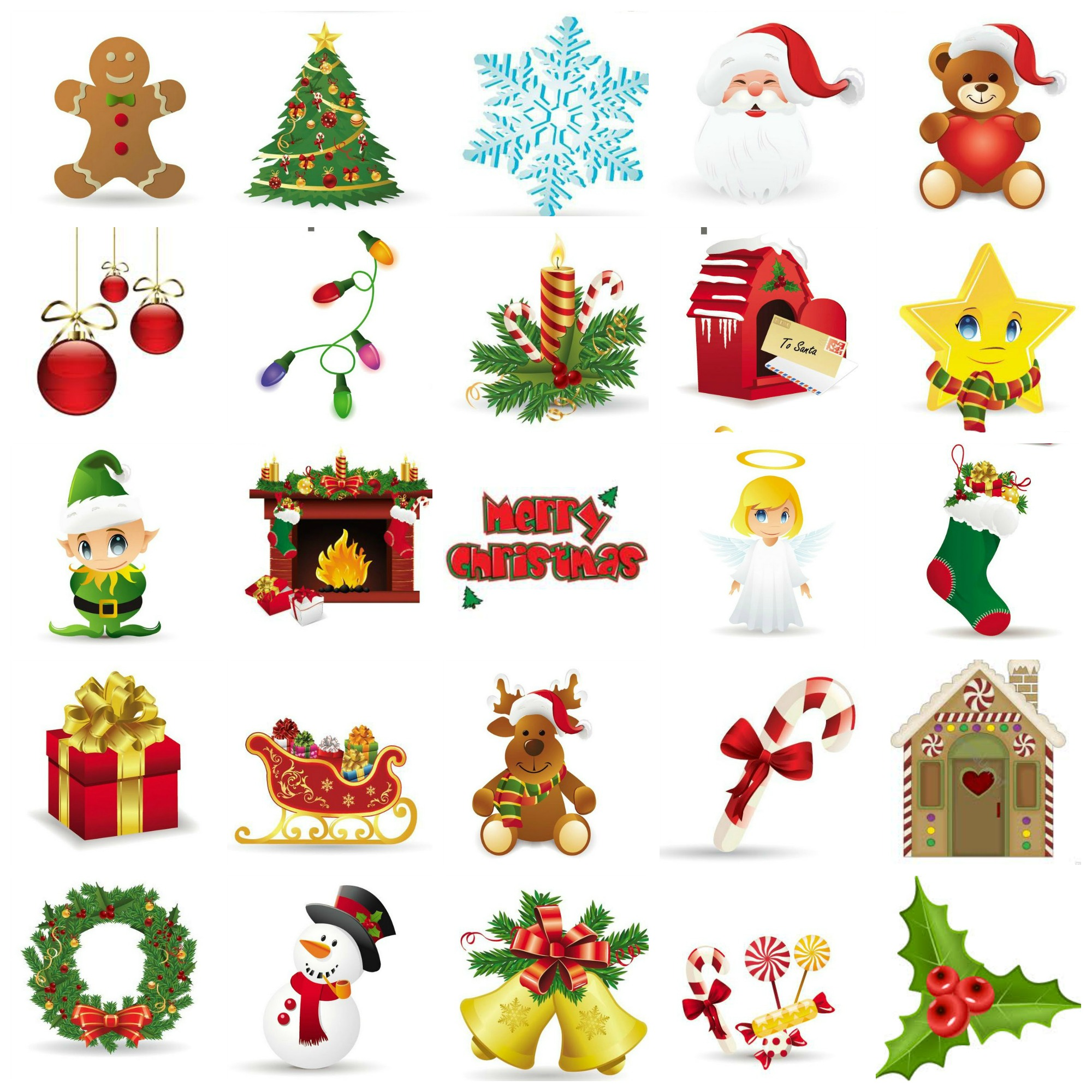Unusual image in christmas bingo card printable
