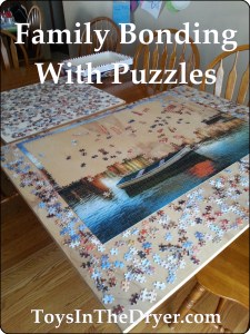 family bonding with puzzles