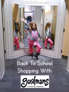 Back to school shopping with Gordmans