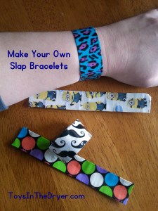 Make Your Own Slap Bracelet