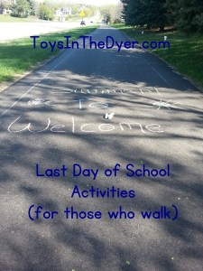 Fun Last Day of School Activities for Those Who Walk
