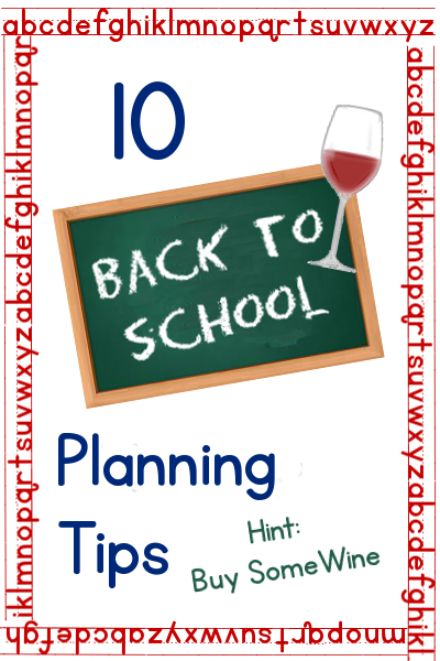 back to school planning tips