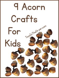 9 Acorn Crafts For Kids