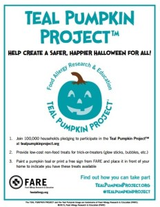 FARE's Teal Pumpkin Project™