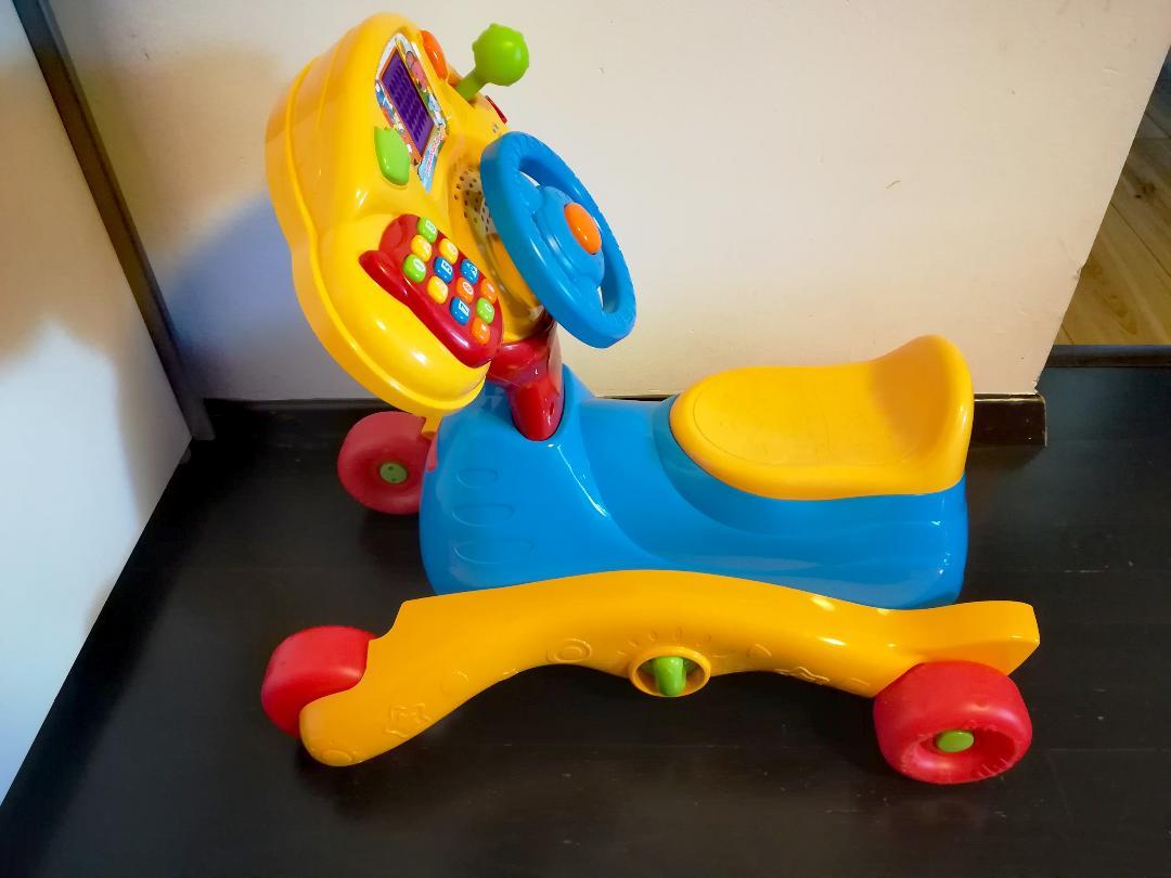 Tricicleta v tech