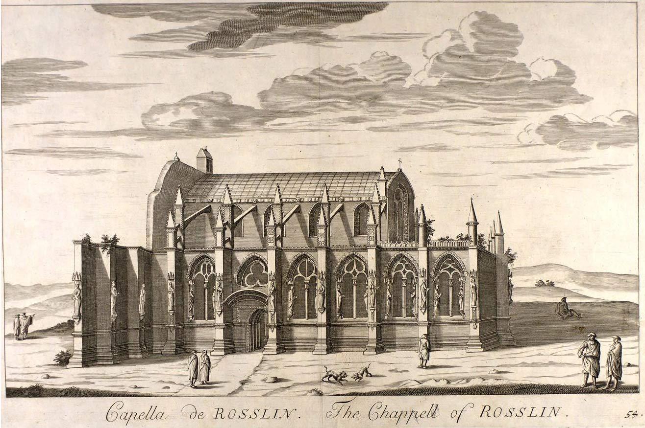 Rosslyn Chapel et le mystère des cubes