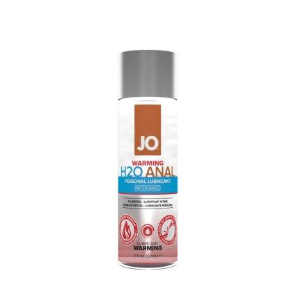 System JO – H2O 水溶性後庭潤滑劑溫熱款 – 60ml