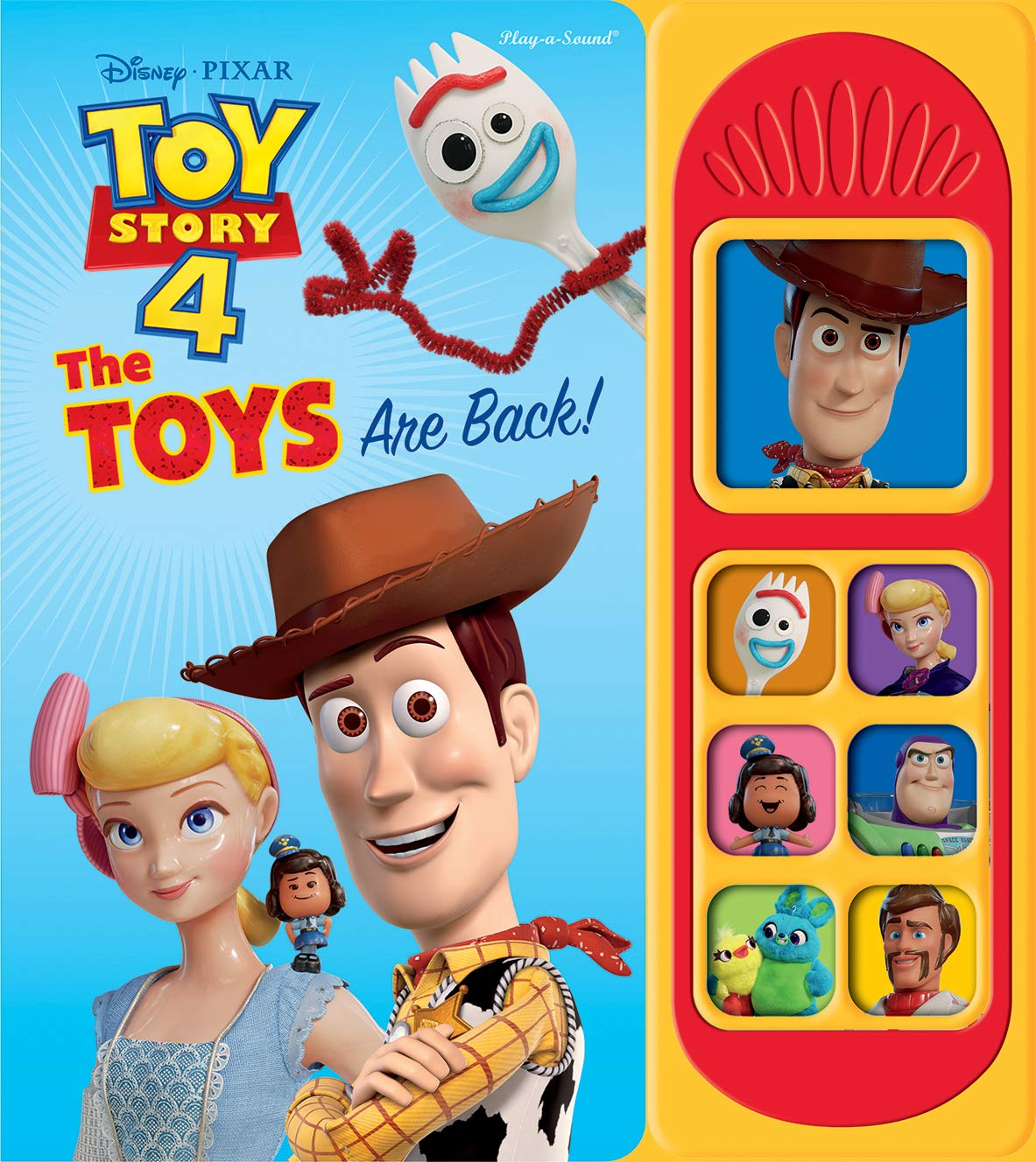 Even More Toy Story 4 Book Covers Added On Amazon