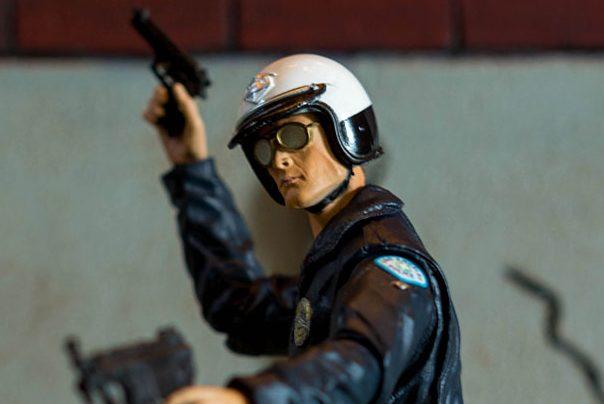 NECA T1000 Motorcycle Cop