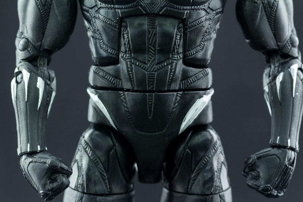 Black Panther ab-pelvis front