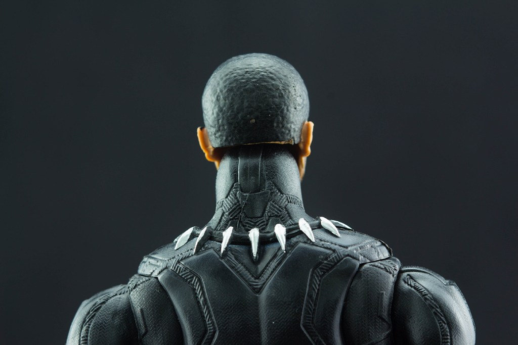 Black Panther Chadwick Boseman head sculpt back