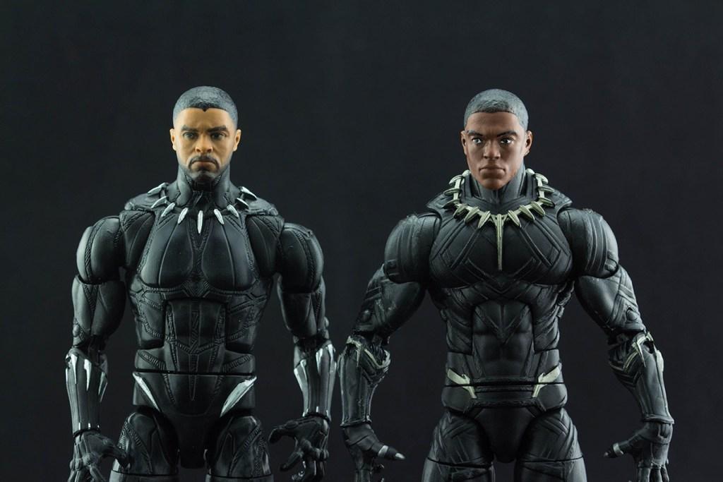 Black Panther Comparison Unmasked