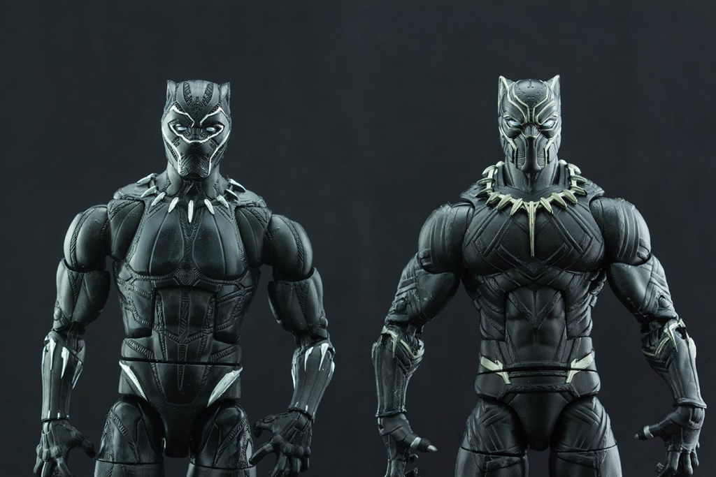 Black Panther Comparison