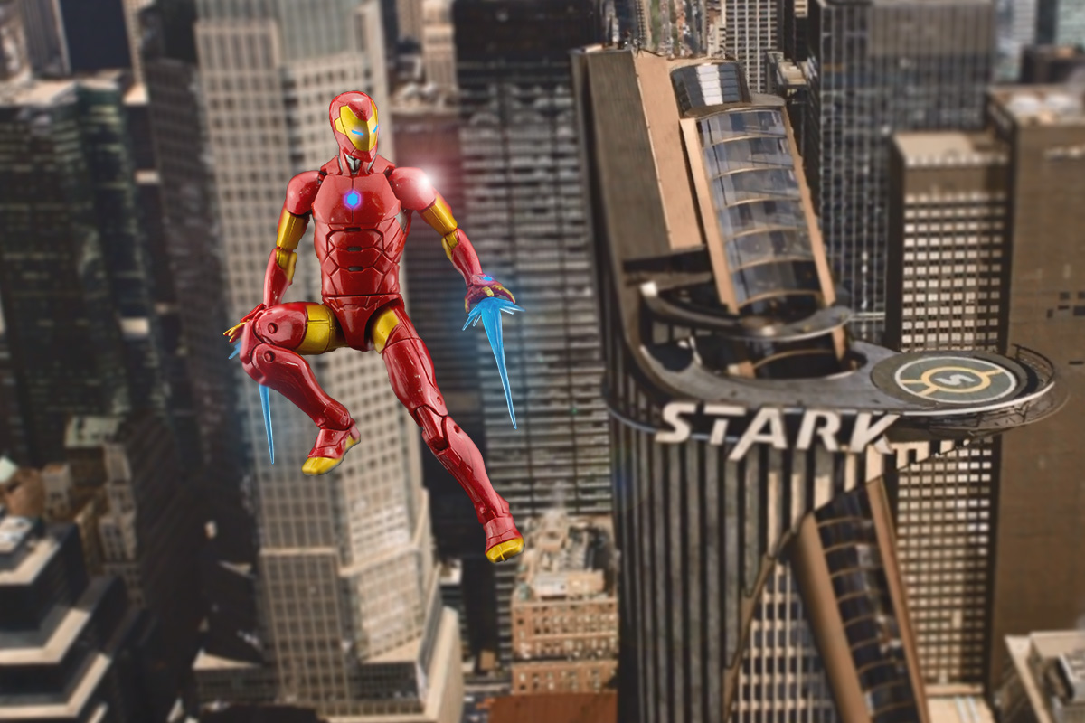 """Marvel Legends Invincible Iron Man Action Figure 6/"""" Stealth Suit IN STOCK"""