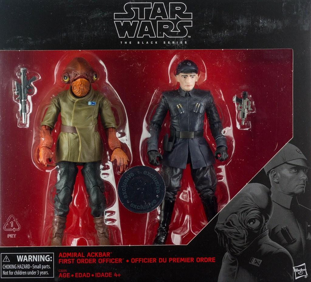 Star Wars Black Series Admiral Ackbar 2 Pack