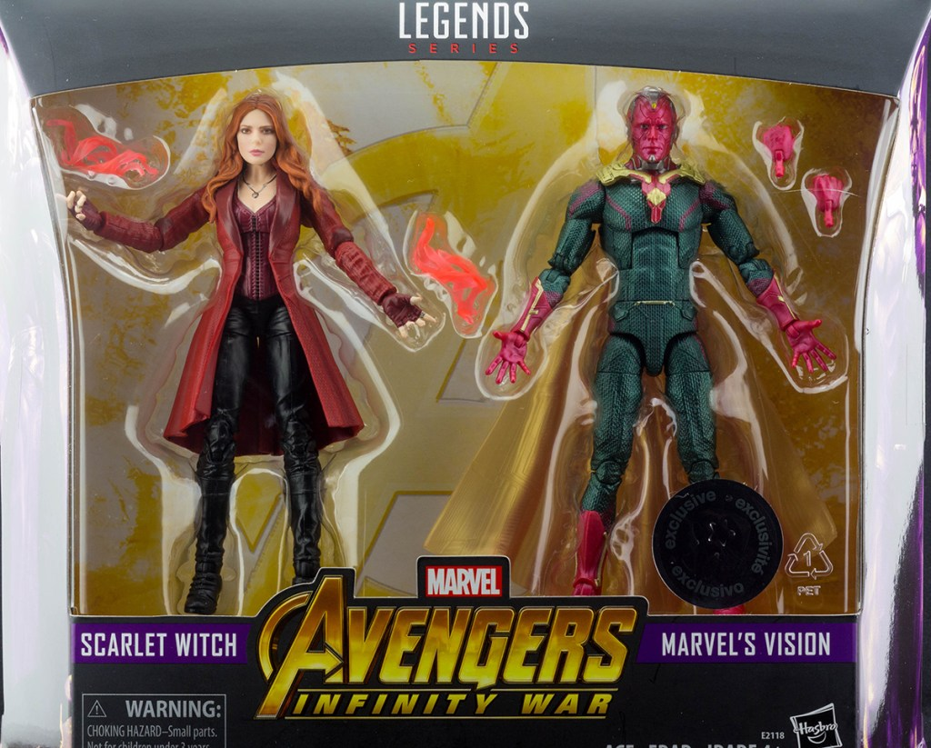 Marvel Legends Scarlet Witch and Vision 2 Pack