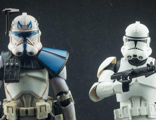 Figuarts Clone Trooper Phase II Vs Clone Captain Rex