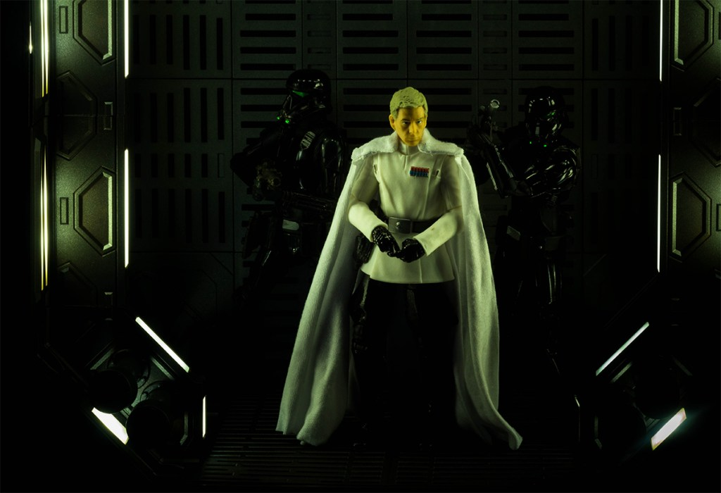 Black Series Director Krennic with rickhor409 cape