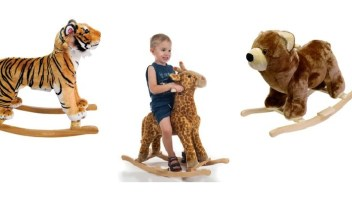 Plush Rocking Animals for Babies and Toddlers