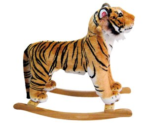 Plush Rocking Tiger