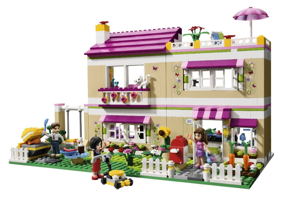 Olivia's House from Lego
