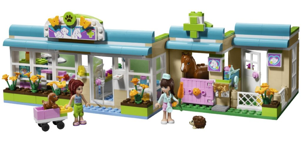 Lego Friends Heartlake Vet with Animals
