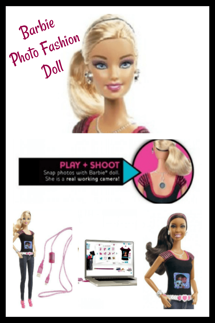 Barbie Photo Doll