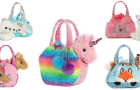 Aurora World Fancy Pals Plush Pets Purse & Pet Carriers