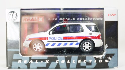 REAL-X COLLECTION 1-72 UK POLICE CAR 508 - Mercedes-Benz M CLASS ML 320 SUV Patrol Car - 07