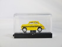 WIDEA 1-87 DIE CAST COLLECTIBLE CAR - Yellow Cab TAXI - 02