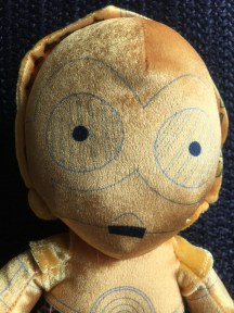 Disney STAR WARS c-3PO 10 inch Plush Toy 3