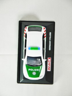 REAL-X COLLECTION 1-72 GERMANY POLIZEI CAR 512 - Porsche Cayenne Patrol Car - 03