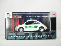 REAL-X COLLECTION 1-72 GERMANY POLIZEI CAR 512 - VW Beetle Patrol Car - 10