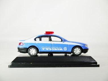 REAL-X COLLECTION 1-72 ITALY POLIZIA CAR 519 - BMW 7 Series Patrol Car - 05
