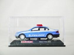 REAL-X COLLECTION 1-72 ITALY POLIZIA CAR 519 - BMW 7 Series Patrol Car - 08