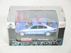 REAL-X COLLECTION 1-72 ITALY POLIZIA CAR 519 - BMW 7 Series Patrol Car - 11