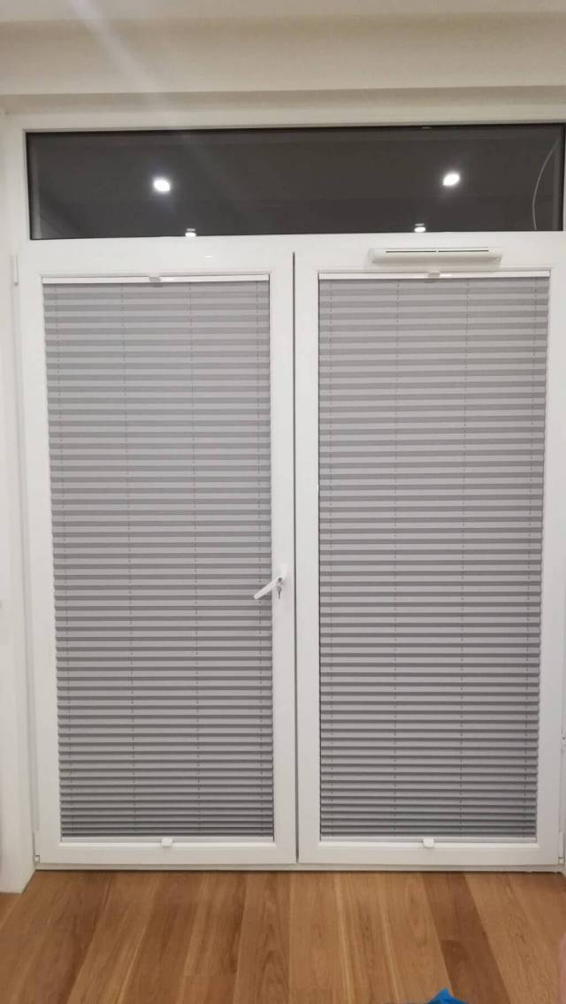 Plisy na okna balkonowe