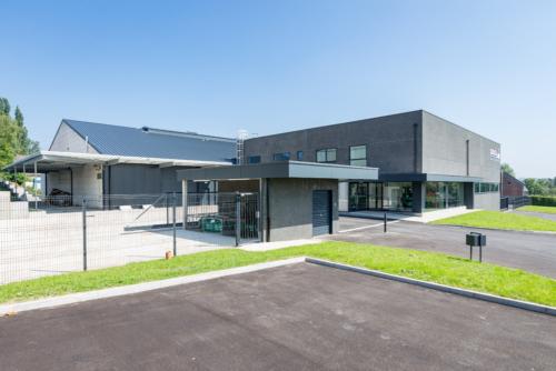 Hall industriel à Chaineux