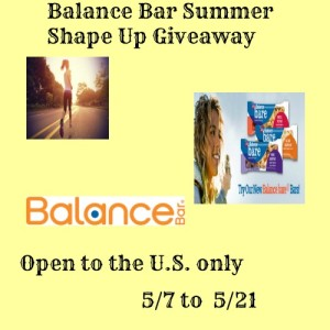 BalanceBar Summer Shape Up