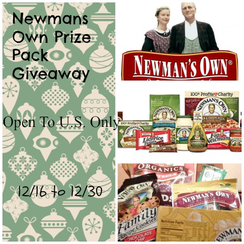 Newmans Own Prize Pack Giveaway