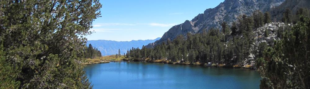 Gilbert Lake near Kearsarge Pass