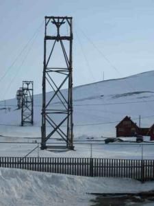 Longyearbyen Tramway towers