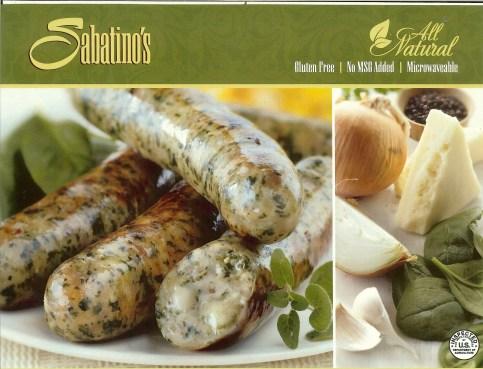 F&S Gourmet Foods / Sabatino's  - Spinach Asiago