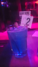 One drink, two drink, good drink, blue drink