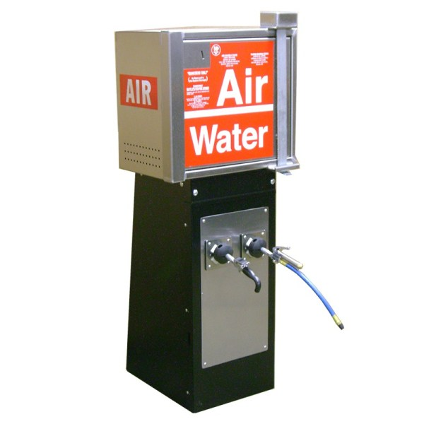 air water machine with reel base