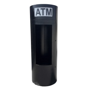 TPI Universal Round Mobile ATM Kiosk Enclosure