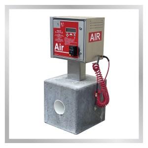 Vault Pedestal Air Machine with technology